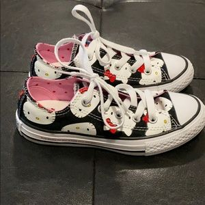 Hello Kitty Converse - Toddler Size 12